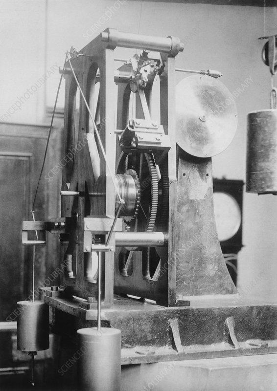 Telescope clock, Sydney Observatory