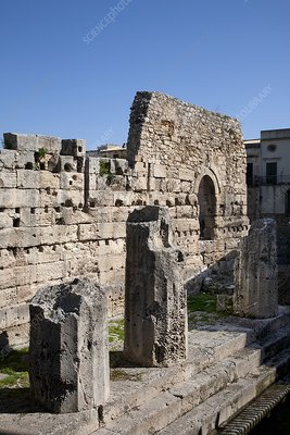 Apollo Temple, Syracuse
