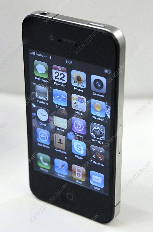 Apple iPhone 4 mobile telephone