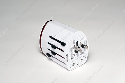 Plug adapter with US prongs