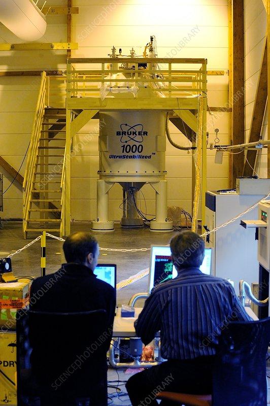 Spectrometry lab