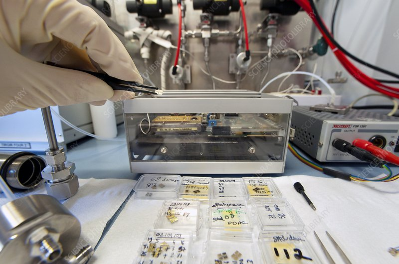 Electrochemical sensor production