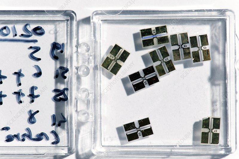 Electrochemical sensor production