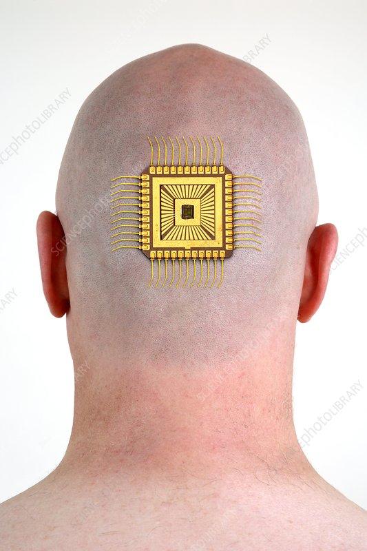 Bionic chip, conceptual image