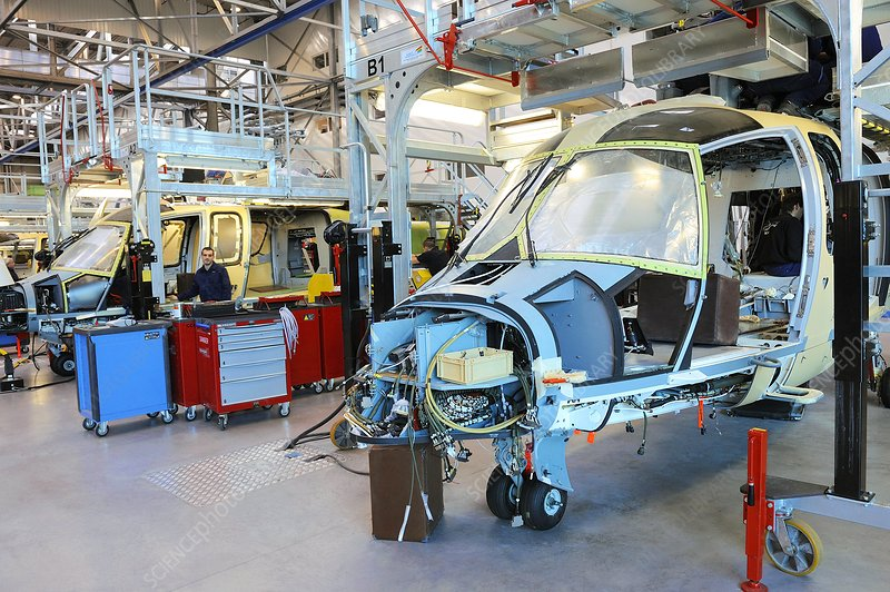 Helicopter manufacturing plant