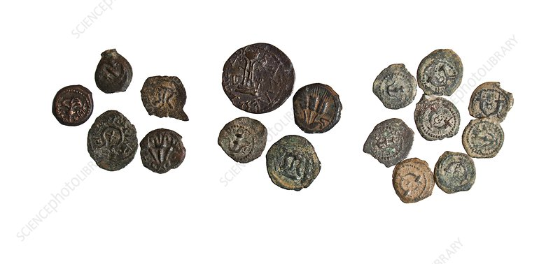 Herod the Great bronze coins