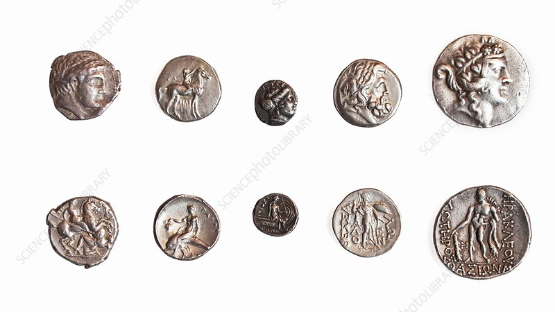 Ancient Greek coins 1st - 3rd century BCE