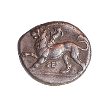 Ancient Greek coin 430-390 BCE