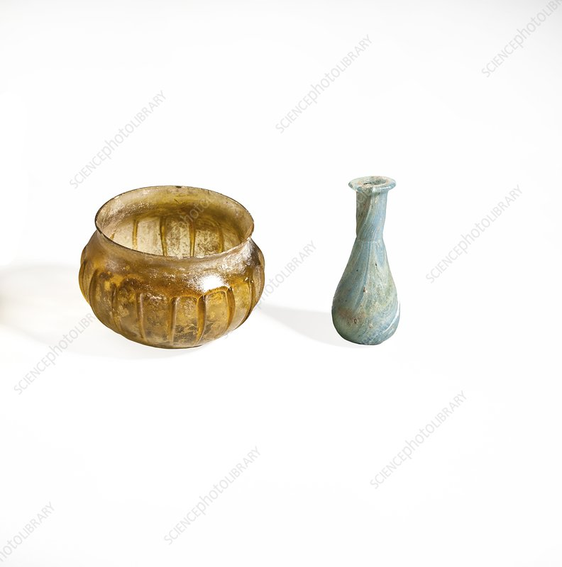 Roman glass container