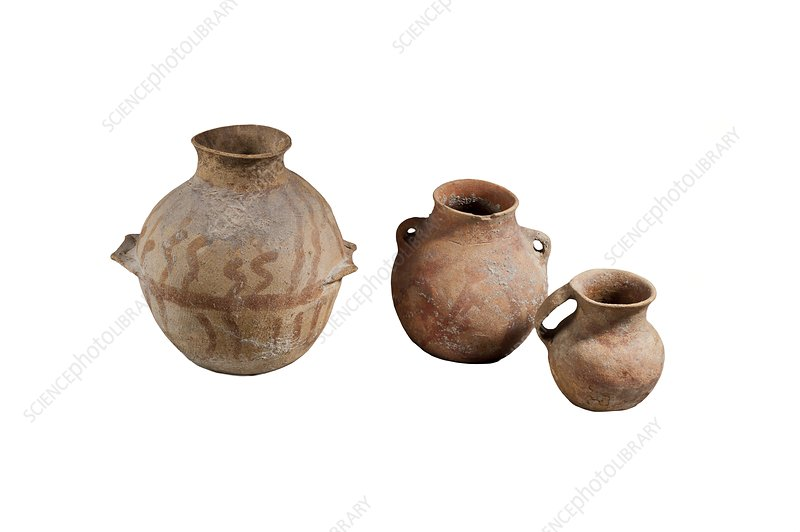 Canaanite Ceramic storage jars