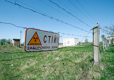 Restriction zone warning around Chernobyl