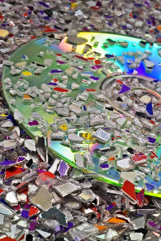 Optical disk recycling