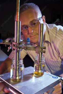Carbon dioxide oil extraction research