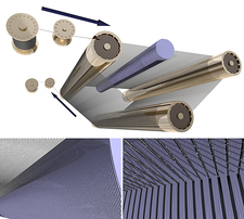 Silicon wafer production, artwork