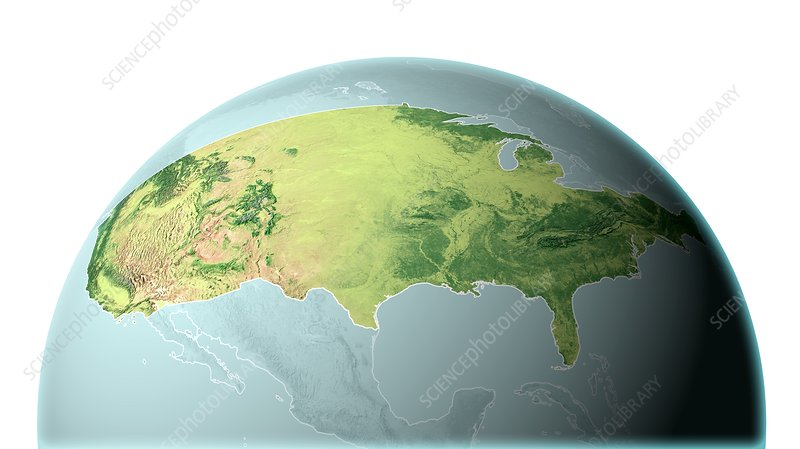 Mainland USA, land cover map