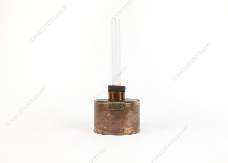19th Century copper burner