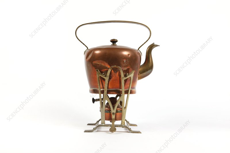 Early 20th Century copper kettle