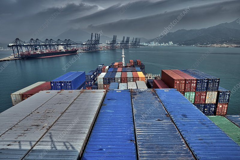 Yangshan Port, China