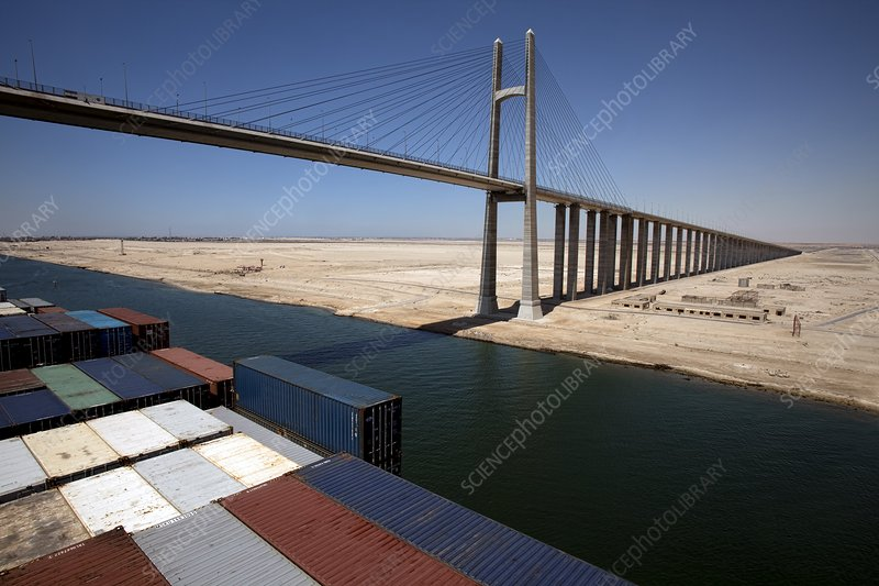 Suez Canal Bridge, Egypt