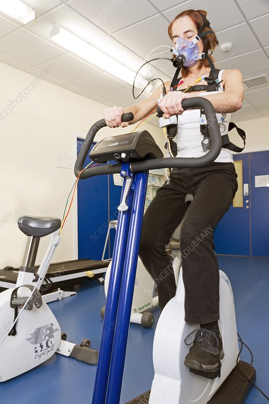 COPD research, exercise monitoring