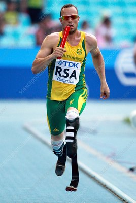 Oscar Pistorius, South African athlete