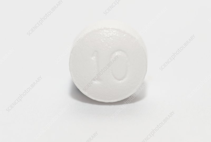 Tablet of Lipitor drug