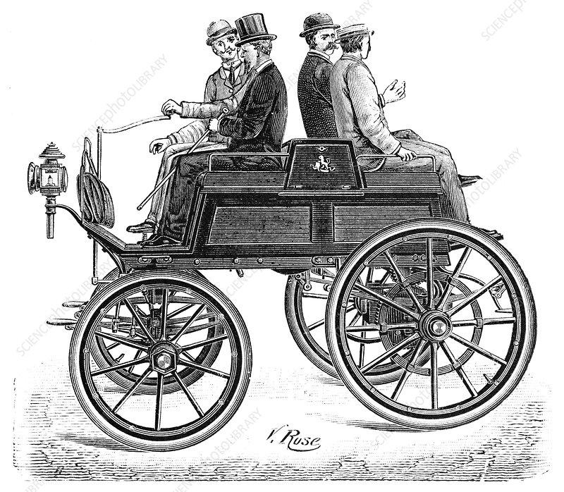 Lefebvre petrol car, 1897