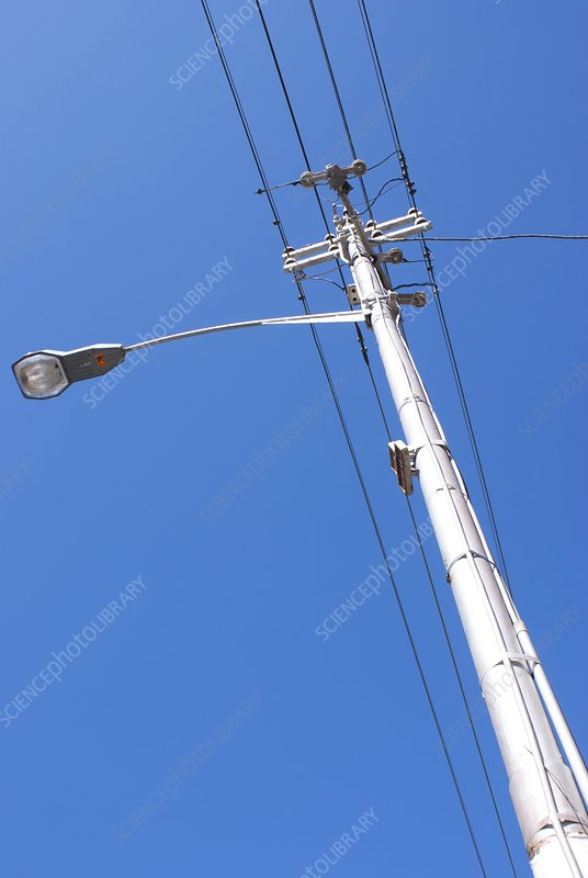 Power and lighting pole in Cape Town