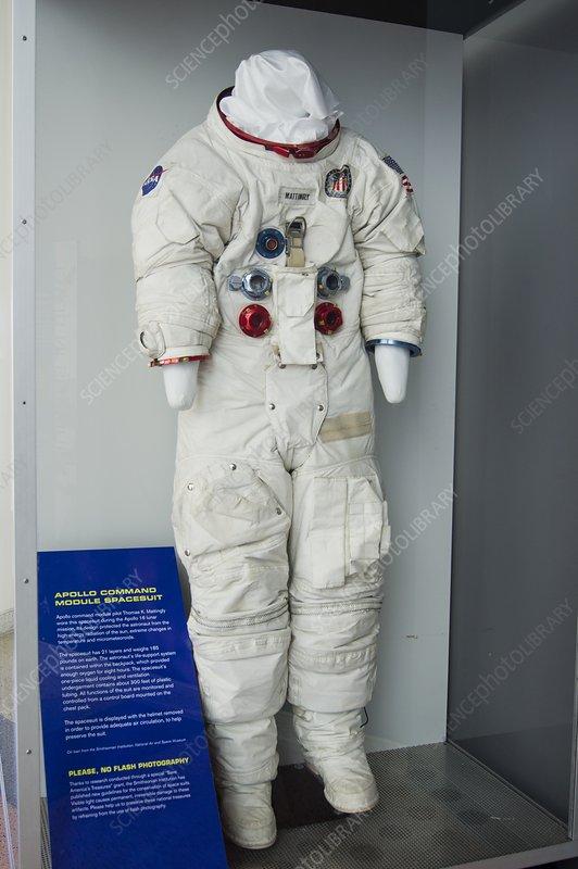 Thomas Mattingly's Apollo spacesuit