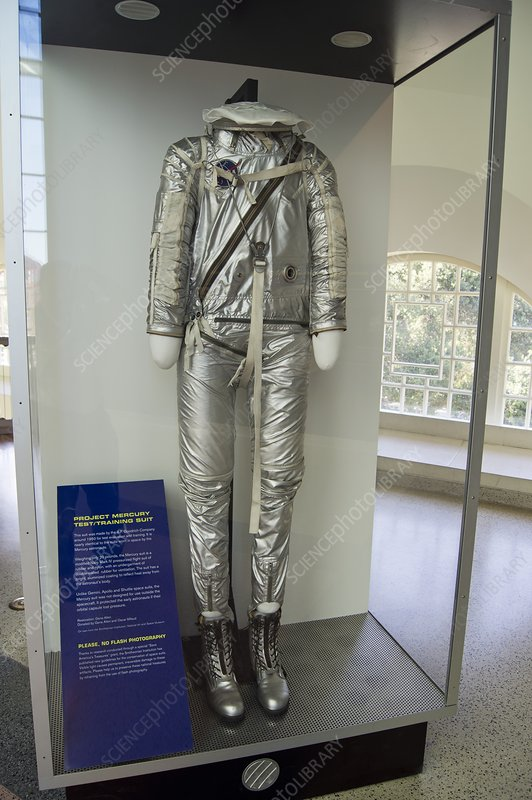 Mercury training spacesuit