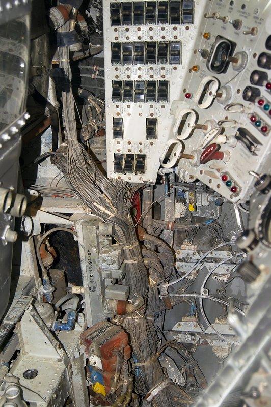 Mercury-Redstone 2 capsule interior