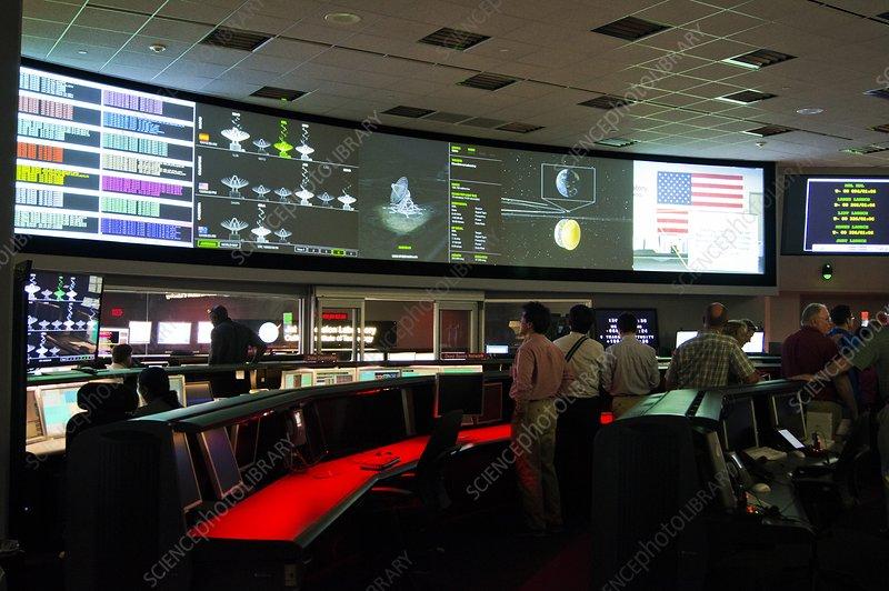 Jet Propulsion Laboratory control room
