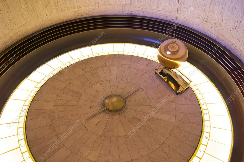 Foucault pendulum at Griffith Observatory