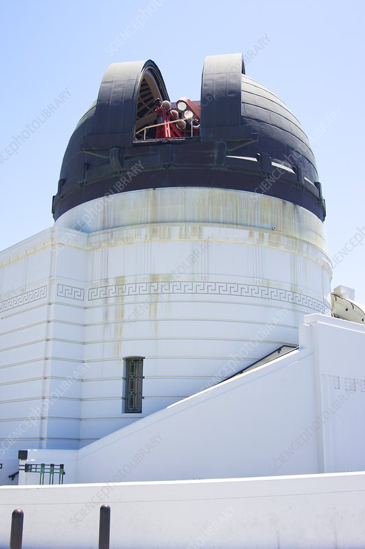Coelostat dome at Griffith Observatory