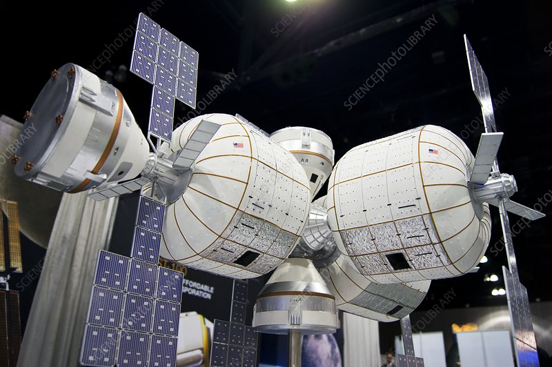 Bigelow space station model