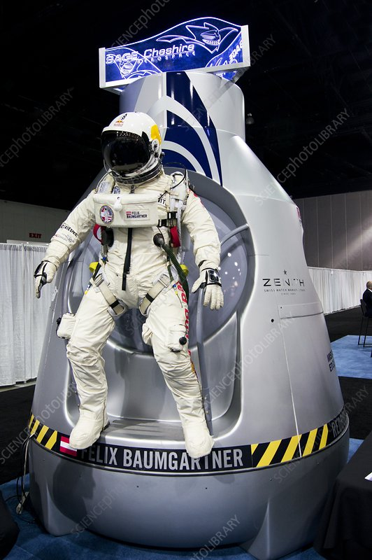 Felix Baumgartner's capsule