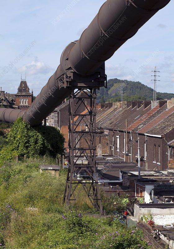 Historical industrial pipeline, Belgium