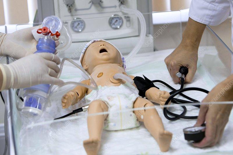 Paediatric training mannequin