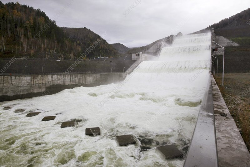 Sayano-Shushenskaya hydro dam