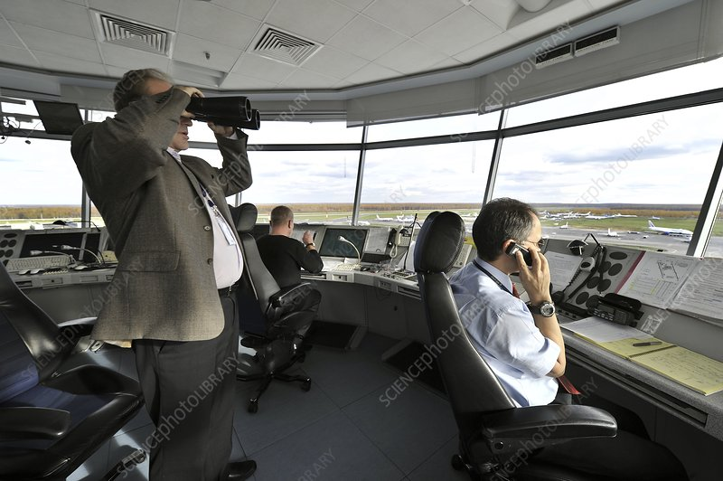 Air traffic control, Domodedovo Airport