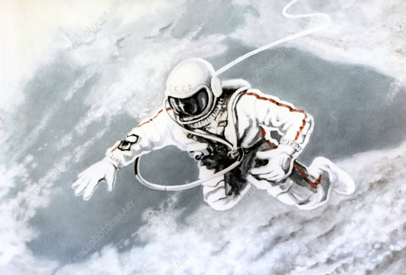 Painting 'Above the Black Sea' by Leonov