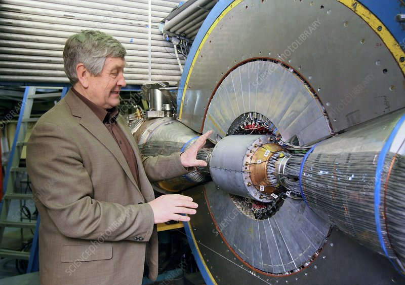 Budker Institute particle detector