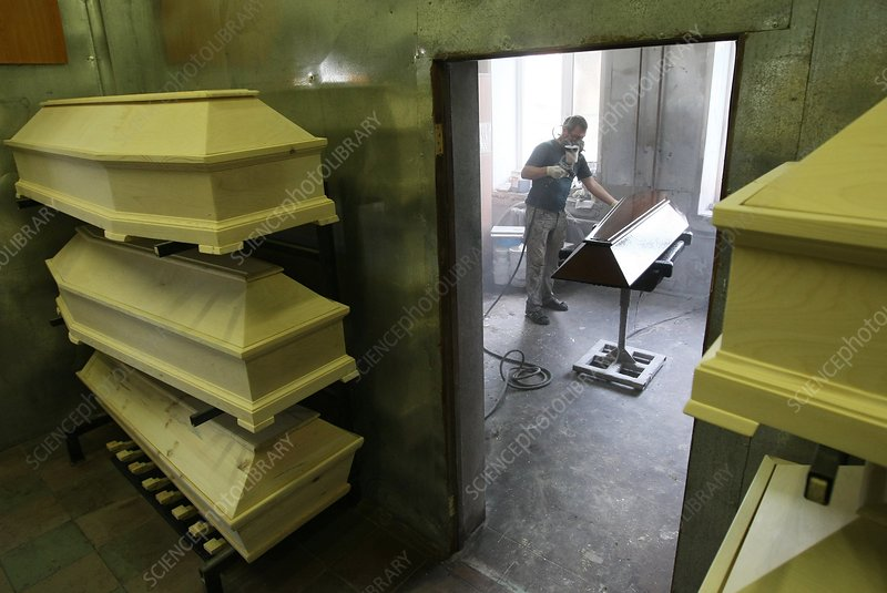 Coffin manufacture