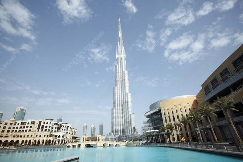Burj Khalifa skyscraper, Dubai
