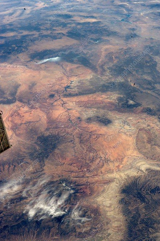Grand Canyon, USA, ISS image
