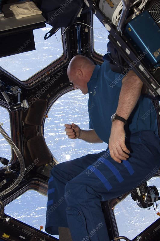 Astronaut Andre Kuipers, ISS