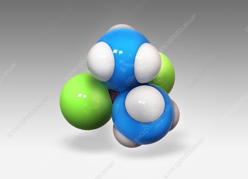 Cisplatin drug molecule