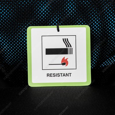 Fire resistance label