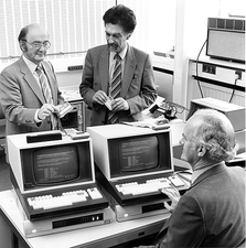 Smart card research, 1982