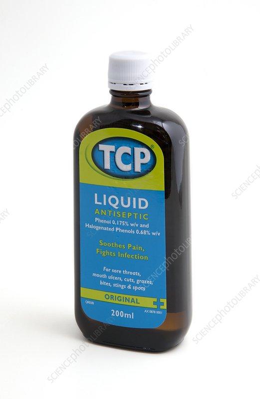 tcp liquid antiseptic how to use